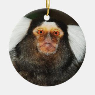 Marmoset hanging ornament