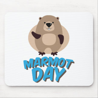 Marmot Day - Appreciation Day Mouse Pad