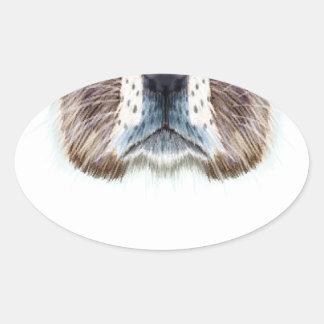 Marmot Day - Appreciation Day Oval Sticker