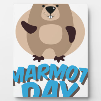 Marmot Day - Appreciation Day Plaque