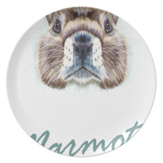 Marmot Day - Appreciation Day Plate