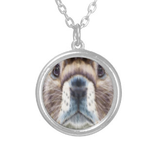 Marmot Day - Appreciation Day Silver Plated Necklace