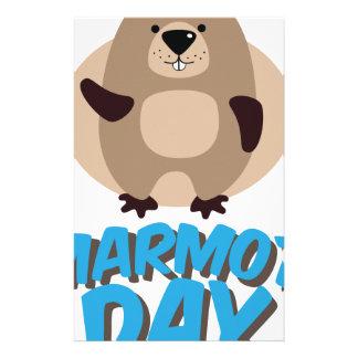 Marmot Day - Appreciation Day Stationery