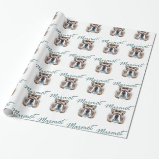 Marmot Day - Appreciation Day Wrapping Paper