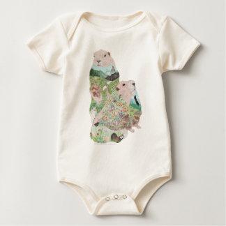 Marmot Ridge Habitat Baby Bodysuit