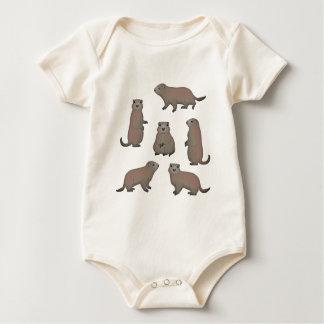 Marmot selection baby bodysuit