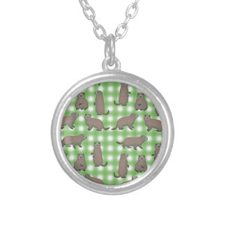 Marmot selection silver plated necklace