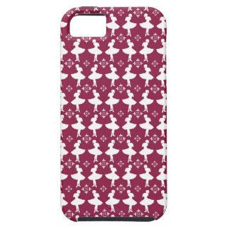 Maroon Ballarinas iPhone 5 Cases