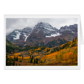 Maroon Bells Card