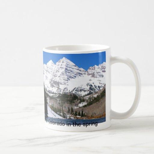 Maroon Bells Colorado mug