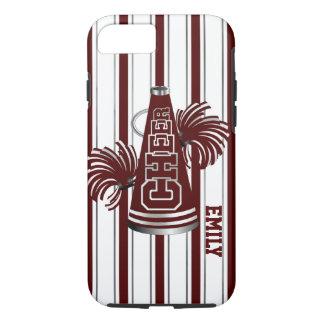 Maroon Cheerleader Custom iPhone 7 Case