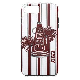 Maroon Cheerleader Custom iPhone 7 Plus Case