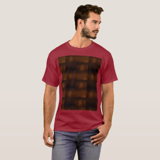 Maroon Future Meets Nature Meets Ancient World T-Shirt