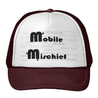Maroon Mobile Mischief Trucker Hat