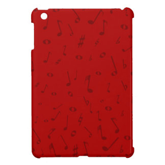 Maroon Music Background iPad Mini Case