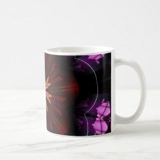 Maroon Orange Purple Flower Fractal Art Gifts Coffee Mug