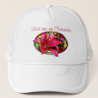 Maroon popout Lily cap- customize it Trucker Hat