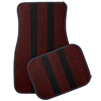 Maroon Red Color Velvet Personalize or Classic Car Mat