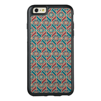 Maroon, Teal Ethnic Pattern, Flowers, Chevrons OtterBox iPhone 6/6s Plus Case