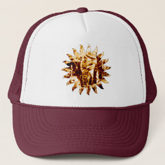 marooned on desert sun trucker hat