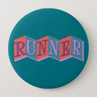 Marquee Runner 10 Cm Round Badge