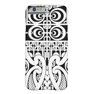 Marquesan tribal tattoo image barely there iPhone 6 case