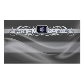 Marquis Silver Jewel Silver Scroll Favor Tags Pack Of Standard Business Cards