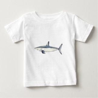 Marrajo - Isurus transparent oxyrinchus-Bottom Baby T-Shirt