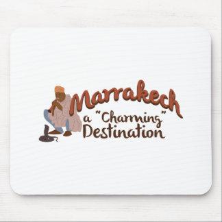 Marrakech Charming Destination Mouse Pad