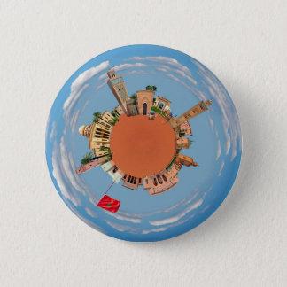 marrakech little planet morocco travel tourism lan 6 cm round badge