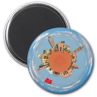 marrakech little planet morocco travel tourism lan magnet