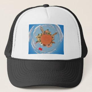 marrakech little planet morocco travel tourism lan trucker hat