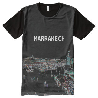 Marrakech - Morocco All-Over Printed T-Shirt. All-Over Print T-Shirt