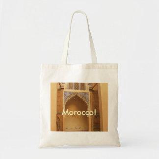 Marrakesh, Morocco Budget Tote Bag