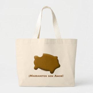 Marranitos son Amor (Marranitos are Love) Tote Bag