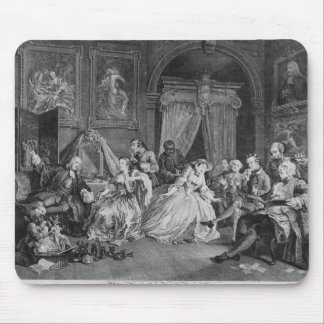 Marriage a la Mode, Plate IV, The Toilette, 1745 Mouse Pad