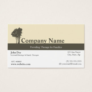 family business cards