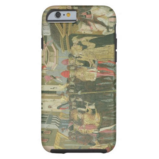Marriage ceremony painted on cassone panel, Floren iPhone 6 Case