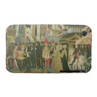 Marriage ceremony painted on cassone panel, Floren Case-Mate iPhone 3 Case