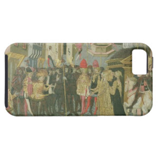 Marriage ceremony painted on cassone panel, Floren iPhone 5 Cover