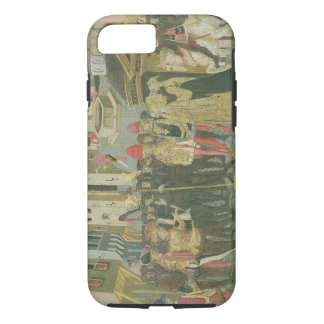 Marriage ceremony painted on cassone panel, Floren iPhone 7 Case
