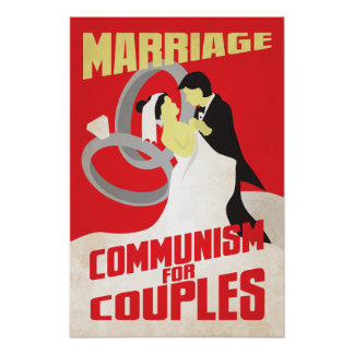 Marriage: Communism for Couples Poster