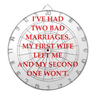 MARRIAGE DARTBOARD