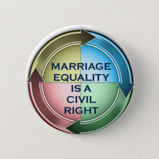 Marriage Equality 6 Cm Round Badge