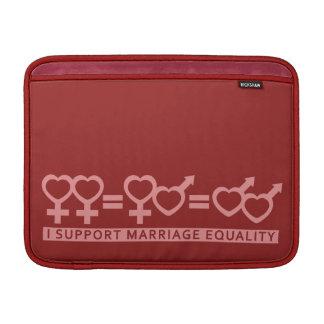"Marriage Equality custom 13"" MacBook sleeve"