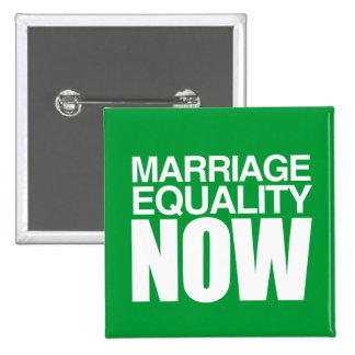 MARRIAGE EQUALITY NOW -.png 15 Cm Square Badge