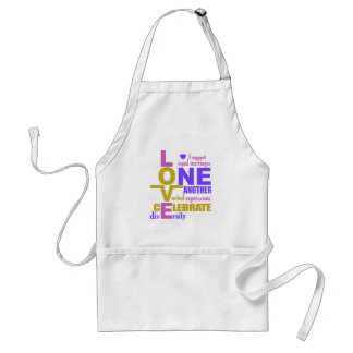 Marriage Equality / One Love apron – choose style