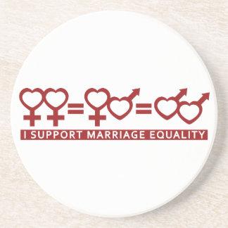Marriage Equality / One Love custom coaster