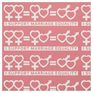 Marriage Equality Supporter custom color fabric