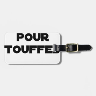 MARRIAGE FOR TUFTS - Word games Luggage Tag